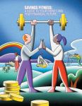 If you don't have a print copy of Savings Fitness: A Guide to Your Future and Your Financial Fitness, you can download a PDF version from the US Department of Labor.