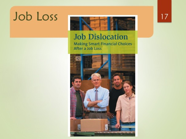 Job Dislocation: Managing the Financial Impact of Unexpected Job Loss