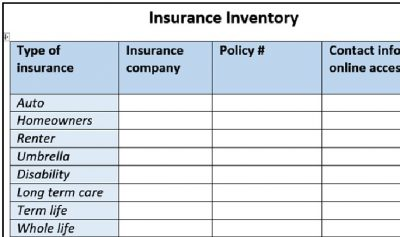 insurance-inventory